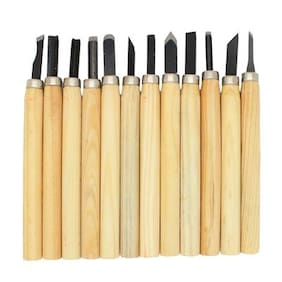 Futaba Wood Carving Chisels set - 12 pcs