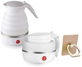 G GAPFILL EKECTRIC KETTLE 0.6 L White Electric Kettle ( 1500 W )