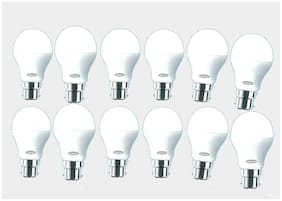 G Gapfill 3 Watt Led Bulb;Standard Size;Cool Daylight High Brighness ( Pack Of 12)