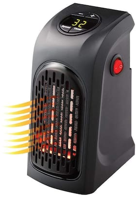 G GAPFILL Mini handy 400 W Fan/blower Room Heater ( Black )
