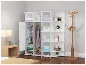 G-Kamp Japan, 16 Cube Multipurpose Waterproof Wardrobe/Book Shelf Storage/Shoe Racks Organizer/Multipurpose Rack/Children Bookcases/File Rack For Office