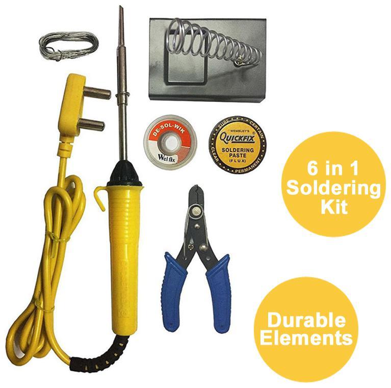 Gadget Deals 6 in 1 Soldering Iron kit