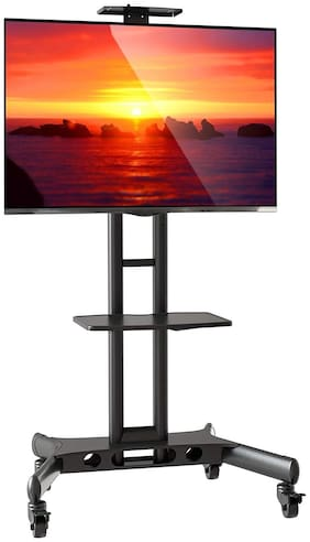 Gadget-Wagon 32-70 inch TV Cart LED LCD TV Wheel Stand for Presentations, Portable, Home