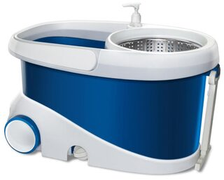 Gala Blue And White Jet Spin Mop