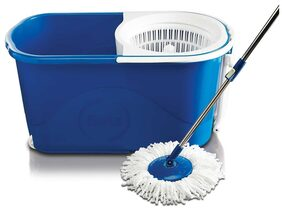 Gala Spin Mop With Easy Wheels & Bucket For Magic 360 Degree Cleaning