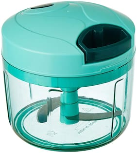 SM Chopper Vegetable Cutter, Pool Green (725 ml)