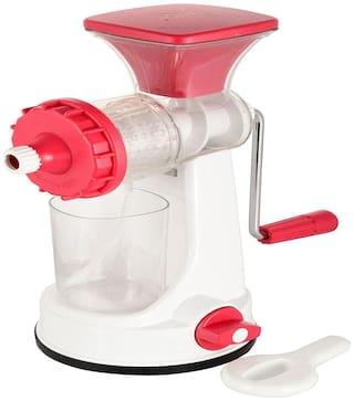 Ganesh New Smart Plastic Multipurpose Fruit Juicer - Red