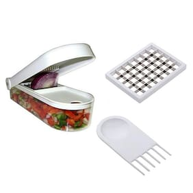 Ganesh Vegetable - Fruit Chopper And Peeler (Set Of 3)