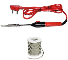 Gapfill Electric Soldering Iron / 50 Watt Soldering Iron with 50gm Solder Wire (50 Watt with 50 gm Solder Wire