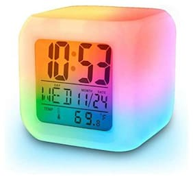 GAPFILL Plastic Digital Alarm clock ( Set of 1 )