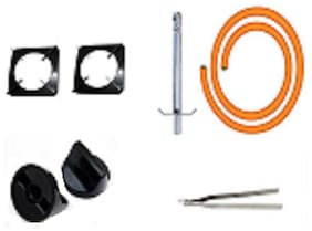Gas Stove Parts And Accessory Hose Pipe Steel wire For Regulator , Lighter , Stand, Gas  Button , Chimta