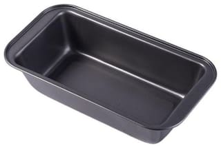Gayatri 1pc Non Stick Carbon Steel Baking Tray, Loaf pan, Bread Mould ( large size )