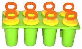 Gayatri 1pc 8PCS DIY Ice Cream Pop Mold Frozen Icy Ice-lolly Icepop Block Maker Set