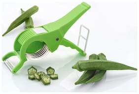 Gayatri 1pc 2 in 1 Multi Cutter and Peeler and Vegetable Cutter