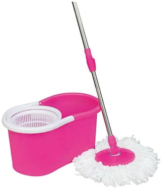 Gencliq Stylish Mop Plastic(Color as per available)