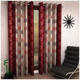 Geonature Door Eyelet curtains set of 2 (4x7 ft)
