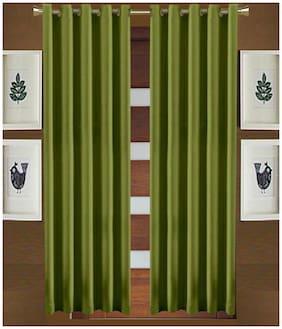 Geonature Eyelet Window Curtains Set of 2