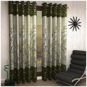 Geonature Eyelet Window Curtains set of 2