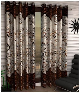 Geonature Eyelet Door curtain set of 2 (4 7 ft)