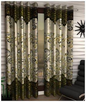 Geonature Eyelet Door curtain set of 2 (4 7 ft)