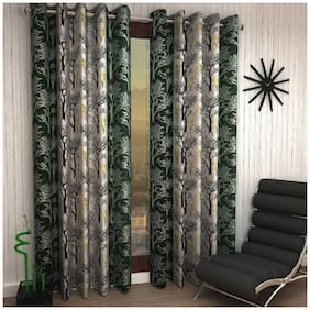 Geonature Eyelet window Curtains Set of 2(4X5 ft)
