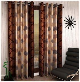 Geonature Eyelet Door Curtains Set of 2 (4X7 ft)