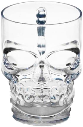 Gifts & Decor Skull Face Beer Mug Drinking Glasses With Handle