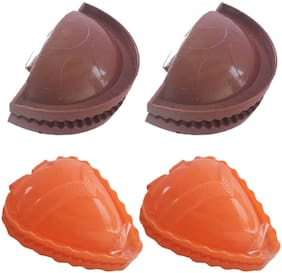 Gifts & Decor Holi Special Combo Pack of Gujia Maker in Plastic with Samosa Maker