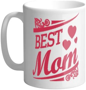 Giftszee Best Mom;Mother Day Gifts;Gifts For Mom;Printed Ceramic Coffee Mug