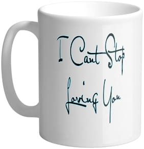 Giftszee I Cant Stop Loving You;Gift For Girlfriend;Boyfriend;Love Gift;Valentine Day Gift;Printed Ceramic Coffee Mug