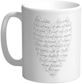 Giftszee Love Quotes;Gift For Girlfriend;Boyfriend;Love Gift;Valentine Day Gift;Printed Ceramic Coffee Mug