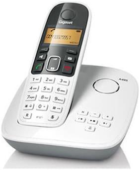 Gigaset A495 white Cordless Landline Phone