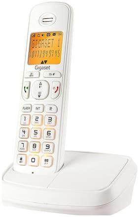 Gigaset A500 white cordless landline phone
