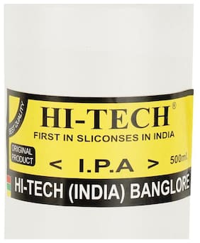 Gilhot hi-Tech Chem Iso-Propyl Alcohol 99% Pure;For Various Cleaning Purposes (500 Ml)