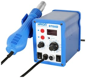 Gilhot Siron Esd Safe 878Ad 2 In 1 Digital Soldering Station & Smd Rework Station Product of India;100% Genuine