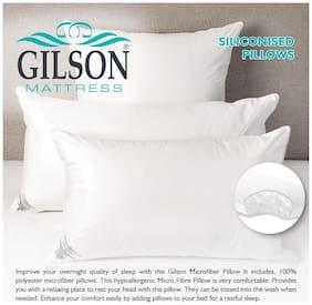 Gilson Siliconized Fiber Pillow (17x27)-White