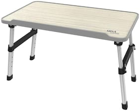 Gizga Ergonomic Height Adjustable Foldable Multi-Function Portable Table can be used as Laptop Table, Eating, Crafting, Study, Bed Table