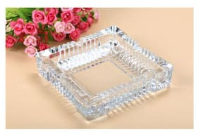 Gking Clear Glass Ashtray