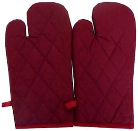 G-King Cotton Gloves Multi ( Pack of 2 )