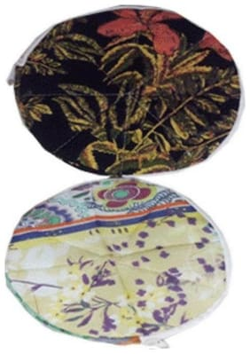 Gking Roti Cover / Chapatis Cover / Parothas Cover 100% Cotton Keep Fresh every  (Set of 2, Round)