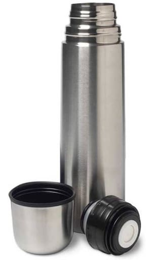 G-King Stainless Steel Assorted Water Bottle ( 1000 ml , Set of 1 )