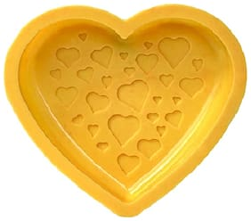 Glamaxy Designer Cake Pan Mould/Heart Shape Baking Mould (Set Of 1)