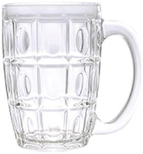 Incrizma Glass Thailand Beer Mug (500 ml/14 Oz) Set of 6