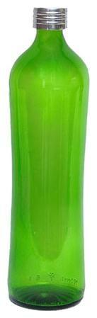 GREENDROP GLASSWARE 750 ml Glass Green Fridge Bottles & Water Bottles - Set of 1