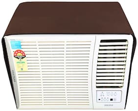Glassiano Coffee Colored waterproof and dustproof window ac cover for LG LWA5BP1A L-Bliss Plus AC 1.5 Ton 1 Star Rating