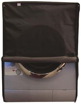 Glassiano dustproof and waterproof washing machine cover for front load 6KG_Siemens_WM08B261IN_Darkgrey