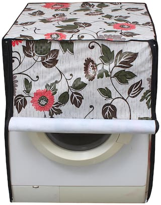Glassiano Washing Machine Cover for Fully Automatic Front Load IFB Serena Aqua SX LDT 6 kg , Multicolor