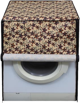 Glassiano Washing Machine Cover for LG F1256NDP Front Load 6 kg Washer Dryer