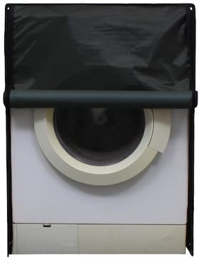 Glassiano Military Green Waterproof & Dustproof Washing Machine Cover for Front Load 6.5Kg Model