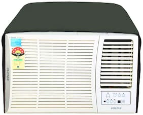 Glassiano Military Colored waterproof and dustproof window ac cover for Voltas 185 MY Magna Y Series AC 1.5 Ton 5 Star Rating